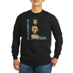 Airedale Dad4 Long Sleeve Dark T-Shirt