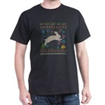 Rabbit Hunter Rabbit Hunting Christmas Ugl T-Shirt