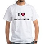 I Love Marionettes T-Shirt