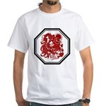 Chinese Zodiac Rooster White T-Shirt