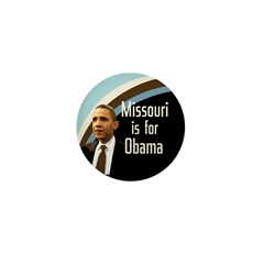 Missouri is for Obama Mini Button