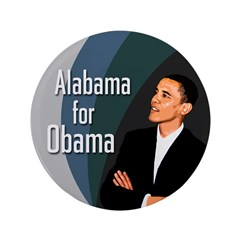 Alabama for Obama Extra Big Button