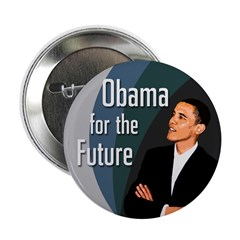 Obama for the Future Campaign Button