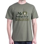 Heart Belongs Soldier T-Shirt