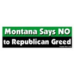 Montana Republican Bumper Sticker