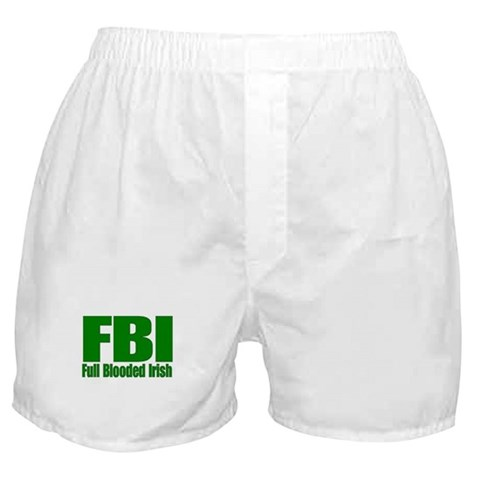 Irish Gift Items Irish Boxer Shorts by CafePress