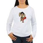 Female Dachsund Women's Long Sleeve T-Shirt