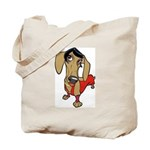 Female Dachsund Tote Bag