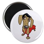 "Female Dachsund 2.25"" Magnet (100 pack)"