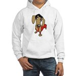 Female Dachsund Hooded Sweatshirt