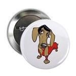 "Female Dachsund 2.25"" Button (10 pack)"