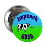 Impeach Bush Moo Cow Button
