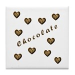 Chocolate Candy Tile Coaster