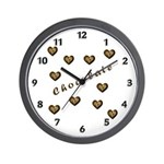 It's always time for chocolate with our wall clocks filled with chocolate hearts and chocolate chip cookies!