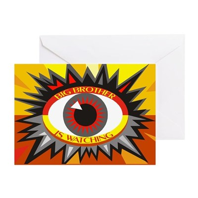 Big Brother is Watching (Ten Greeting Cards)