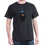 Happy Grizzly Police Officer T-Shirt