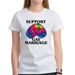 SUPPORT GAY MARRIAGE T-shirts