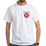 FIREFIGHTERS HOW WE ROLL White T-Shirt