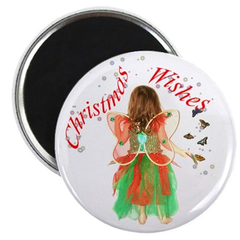 2.25 Christmas Fairy Magnet 10 pack Christmas 2.25 Magnet 10 pack by CafePress