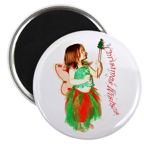 2.25 Christmas Fairy Magnet 10 pack Holidays 2.25 Magnet 10 pack by CafePress
