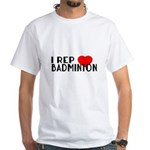 I Rep Badminton Sports Desi Shirt