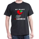 My Heart, Friends, Family, Beauceron T-Shirt