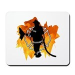 Mouse pads for a firefighter's home, office or fire department desk, perfect for surfing the web!