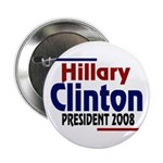 Hillary Clinton for President 2008 (Button)