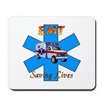 EMT Saving Lives Mousepad