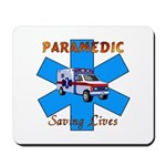 Paramedic Saving Lives Mousepad