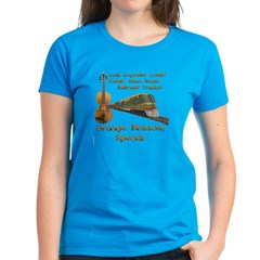 Orange Blossom Special Shirt--Fiddle Shirt--Bluegrass at its Best