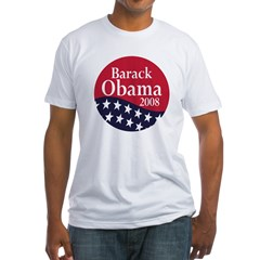 Barack Obama 2008 (Fitted Political T-Shirt)