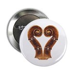 Violin Scroll Heart Button