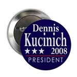 "Dennis Kucinich 2008 2.25"" Button (10 pack)"