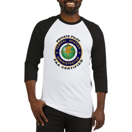 FAA Certified Private Pilot Baseball Jersey
