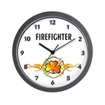 Firefighter clocks with fighting Irish themes!