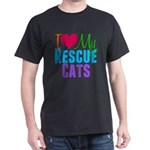 I Love Rescue Cats T-Shirt