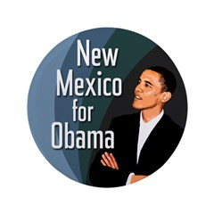 Big New Mexico for Obama Button