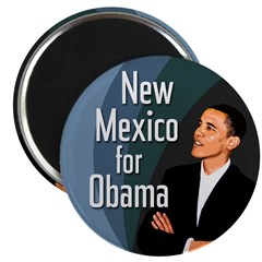 New Mexico for Obama Political Magnet