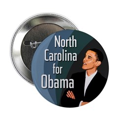 North Carolina for Obama - ten pack buttons