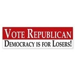 Vote Republican (bumper sticker)