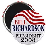 Bill Richardson 2008 (10 Magnets)