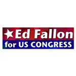 Ed Fallon for Congress bumper sticker