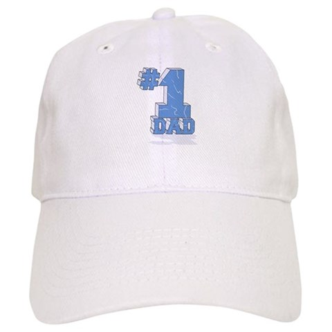 1 / NUMBER ONE DAD  Family Cap by CafePress