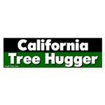 California Tree Hugger Bumper Sticker