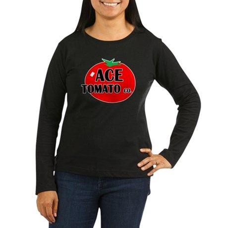 Ace Tomato Co Women's Long Sleeve Dark T-Shirt