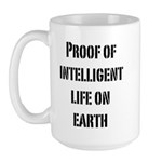 Intelligent Life Large Mug