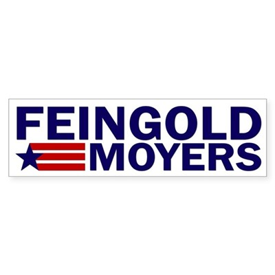Feingold-Moyers 2012 bumper sticker