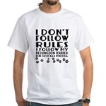 I Follow My Bedlington Terr Shirt