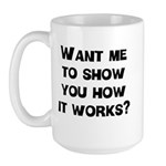 How It Works Large Mug